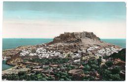 GRECE/GREECE/GRECIA - RHODES/RODI VIEW OF LINDOS - 1954 - Grecia