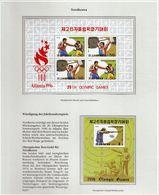 North Korea / Olympic Games Atlanta 1996 / Boxing, Weightlifting, Shooting - Zomer 1996: Atlanta