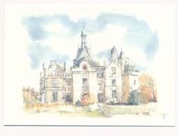 Château De La Mothe-Chandeniers à Les Trois-Moutiers / Carte Artistique - Les Trois Moutiers