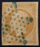 FRANCE - 10 C. Oblitéré étoile Bleue TTB - 1853-1860 Napoléon III