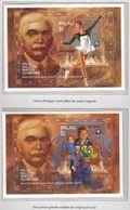 Palau 1994 / Olympic Games Lillehammer / Pierre De Coubertin / Kerrigan, Jansen - Winners - Hiver 1994: Lillehammer