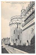 37 - AMBOISE - La Grosse Tour Du Château - Balcon En Fer Forgé - Ed. ND Phot N° 44 - Amboise