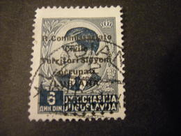 LUBIANA - 1941, COMMISSARIATO  Soprast., Sass. N. 27,  D. 6, Usato  TTB, OCCASIONE - 9. Besetzung 2. WK (Italien)