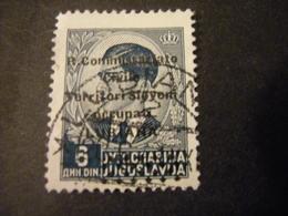 LUBIANA - 1941, COMMISSARIATO  Soprast., Sass. N. 27,  D. 6, Usato  TTB, OCCASIONE - Lubiana