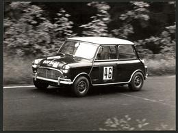 Fotografie Autorennen, Auto Mini Cooper S Mit Startnummer 46 - Cars