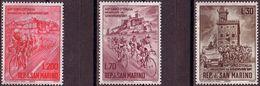 San Marino 1965, Mi 830 - 832, Cycling, Bicycle, 48 Giro D'Italia, . MNH ** - Radsport