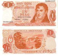 Argentina 1 Peso 1974 Pick 293 UNC - Argentina