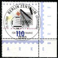 A12-06-5) BRD - Mi 2148 ECKE REU - Zentrisch OO Gestempelt (B) - 110Pf     Tag Der Briefmarke 00 - Oblitérés