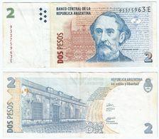 Argentina 2 Pesos 2002 Pick 352.3 Ref 1462 - Argentina