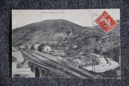 ST PONS - La Gare - Voir VERSO ( Papier Collé .....) - Saint-Pons-de-Thomières