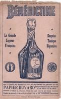 FRANCE - ADVERTISING OLD PAPER -  BÉNÉDICTINE - LA GRANDE LIQUEUR FRANÇAISE - Alcohols