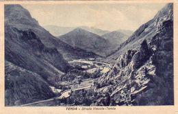 TENDA-CUNEO-STRADA VIEVOLA TENDA-CARTOLINA VIAGGIATA IL 2-9-1933 - Cuneo