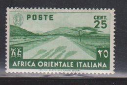 ITALIAN EAST AFRICA Scott # 7 MH - Desert Road - Italian Eastern Africa