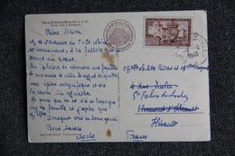 Timbre Sur CPA D'ALLEMAGNE Vers FRANCE.1949 - Lettres & Documents