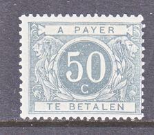 BELGIUM  J 16  Fault  * - Stamps