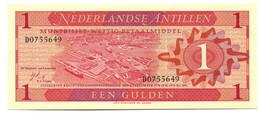 Netherlands Antilles UNC 1 Gulden Banknote - Banknotes
