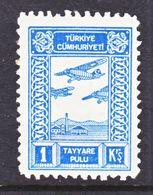 TURKEY  CB 1  **  PRIVATE  AIR  LABEL - 1921-... Republic