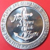 $1 Casino Token. North Shore Club, Lake Tahoe, NV. 1966, NEW. J26. - Casino