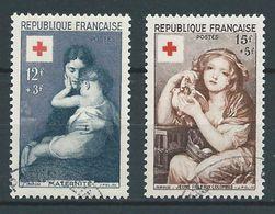FRANCE 1954 . N°s 1006 Et 1007 . Oblitérés . - France
