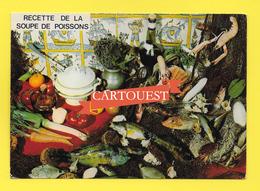 CPSM Recette Cuisine - RECETTE SOUPE DE POISSONS  -  Georgette Simon - Recettes (cuisine)
