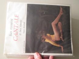 Paire De Bas Nylon Mousse VINTAGE Neuf Jamais Porté , CANTALE  Couleur Chair , Taille 1  , Années 60/70 - Tights & Stockings