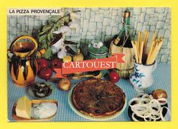 CPSM Recette Cuisine - LA PIZZA PROVENCALE  -  Georgette Simon - Recettes (cuisine)