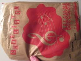 Paire De Bas Nylon Mousse VINTAGE Neuf Jamais Porté , CHARLESTON  Couleur Chair , Taille 2 / 9  , Années 60/70, 20D - Bas