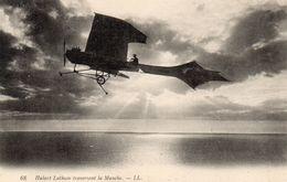 Hubert Latham Traversant La Manche - Aviateurs
