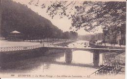 CPA - 100. QUIMPER - Le Mont Frugy - Les Allées De Locmaria - Quimper