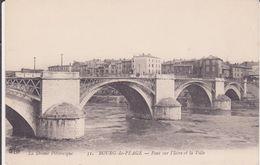 CPA - 51.BOURG DE PEAGE - Pont Sur L'Isère Et La Ville - Frankrijk