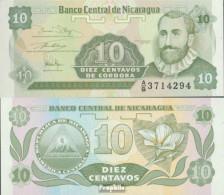 Nicaragua Pick-Nr: 169a Bankfrisch 1991 10 Centavos - Nicaragua