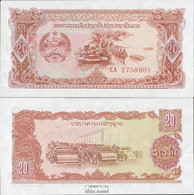 Laos Pick-Nr: 28r Bankfrisch 1979 20 Kip - Laos