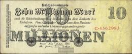 German Empire Rosenbg: 95 Used (III) 1923 10 Million Mark - [ 3] 1918-1933 : Weimar Republic