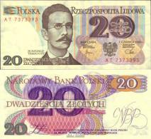 Polen 149b Bankfrisch 1982 20 Zloty - Polen
