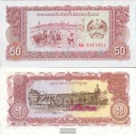 Laos Pick-number: 29r Uncirculated 1979 50 Kip - Laos