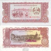 Laos Pick-Nr: 29r Bankfrisch 1979 50 Kip - Laos