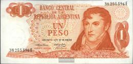 Argentina Pick-number: 293 Uncirculated 1974 1 Pesos - Argentinien