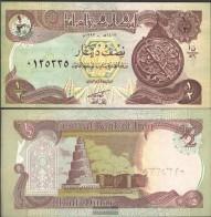 Iraq Pick-number: 78 Uncirculated 1993 1/2 Dinar - Iraq