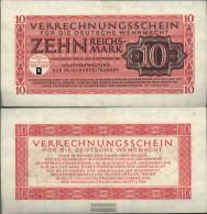 German Empire Rosenbg: 513 Uncirculated 1944 10 Reichsmark Army - [ 4] 1933-1945 : Third Reich