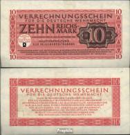 Deutsches Reich Rosenbg: 513 Bankfrisch 1944 10 Reichsmark Wehrmacht - [ 4] 1933-1945 : Third Reich