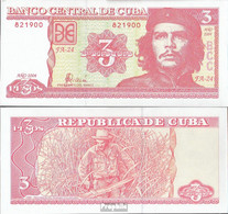 Kuba Pick-Nr: 127 Bankfrisch 2004 3 Pesos - Kuba