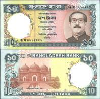 Bangladesch Pick-Nr: 33 (32) Bankfrisch 1997 10 Taka - Bangladesch