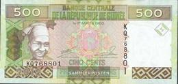 Guinea Pick-number: 39b Uncirculated 2012 500 Francs - Guinea