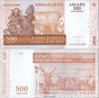 Madagaskar Pick-Nr: 88b Bankfrisch 2004 500 Ariary - Madagaskar