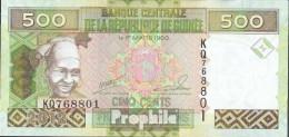 Guinea Pick-Nr: 39b Bankfrisch 2012 500 Francs - Guinea