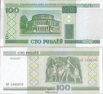Weißrussland Pick-Nr: 26b Bankfrisch 2011 100 Rublei - Belarus