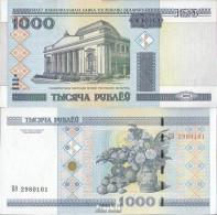 Weißrussland Pick-Nr: 28b Bankfrisch 2011 1.000 Rublei - Belarus