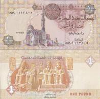Ägypten Pick-Nr: 50l Bankfrisch 2007 1 Pound - Aegypten