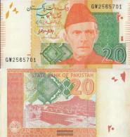 Pakistan Pick-number: 55i Uncirculated 2015 20 Rupees - Pakistan
