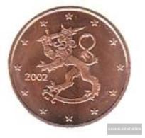 Finland FIN 1 2002 Stgl./unzirkuliert Stgl./unzirkuliert 2002 Kursmünze 1 Cent - Finland